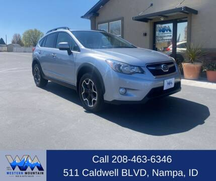 2014 Subaru XV Crosstrek for sale at Western Mountain Bus & Auto Sales in Nampa ID