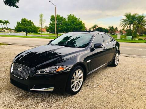 2013 Jaguar XF for sale at CARSTRADA in Hollywood FL