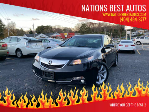 2012 Acura TL for sale at Nations Best Autos in Decatur GA