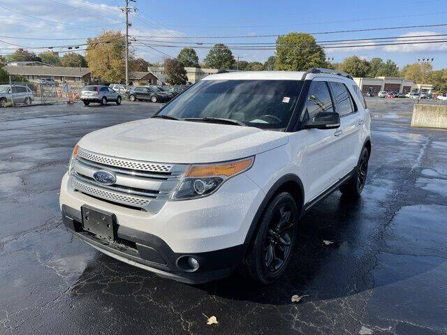 2012 Ford Explorer for sale at MATHEWS FORD in Marion OH