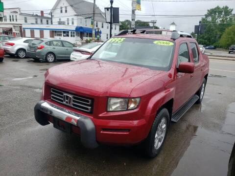 2006 Honda Ridgeline for sale at TC Auto Repair and Sales Inc in Abington MA