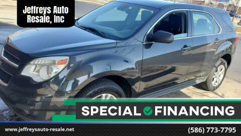 2013 Chevrolet Equinox for sale at Jeffreys Auto Resale, Inc in Clinton Township MI