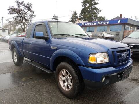 2011 Ford Ranger for sale at All American Motors in Tacoma WA