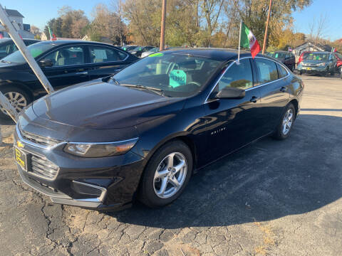 2017 Chevrolet Malibu for sale at PAPERLAND MOTORS in Green Bay WI