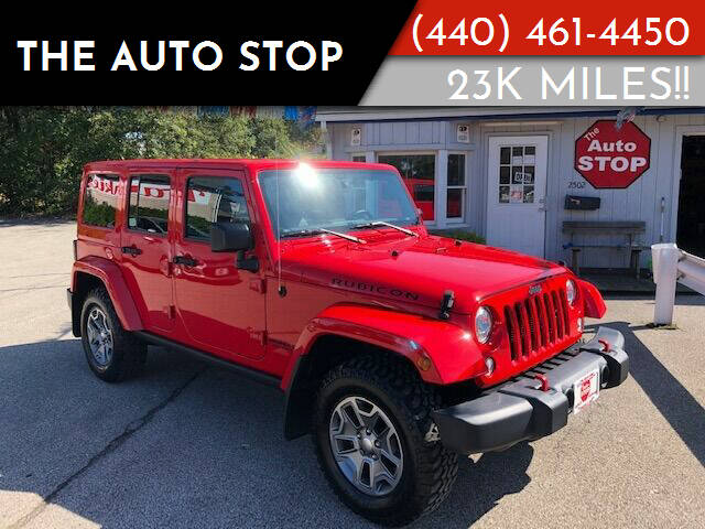 2017 Jeep Wrangler Unlimited for sale at The Auto Stop in Painesville OH