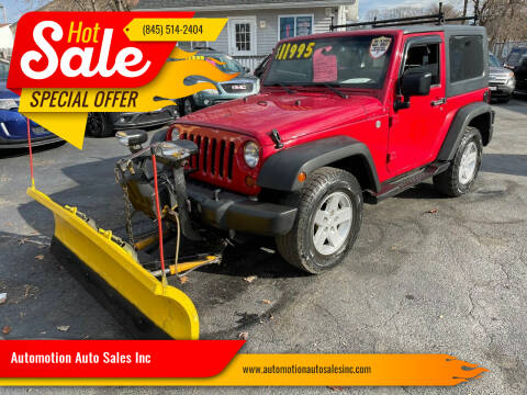 2008 Jeep Wrangler for sale at Automotion Auto Sales Inc in Kingston NY