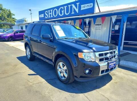 2010 Ford Escape for sale at Shogun Auto Center in Hanford CA