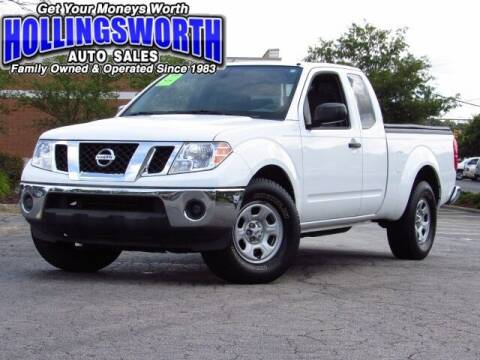 2010 Nissan Frontier for sale at Hollingsworth Auto Sales in Raleigh NC