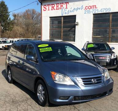 2008 Honda Odyssey for sale at Street Visions in Telford PA