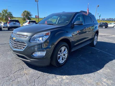 2017 Chevrolet Equinox for sale at Sun Coast City Auto Sales in Mobile AL