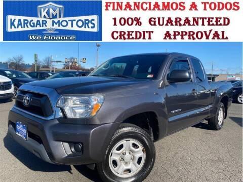 2015 Toyota Tacoma for sale at Kargar Motors of Manassas in Manassas VA