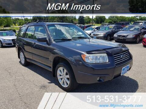 2008 Subaru Forester for sale at MGM Imports in Cincannati OH