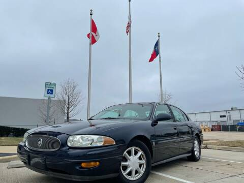 2004 Buick LeSabre for sale at TWIN CITY MOTORS in Houston TX
