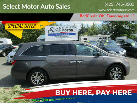 2011 Honda Odyssey for sale at Select Motor Auto Sales in Lynnwood WA