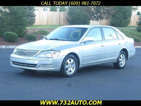 2002 Toyota Avalon for sale at Absolute Auto Solutions in Hamilton NJ