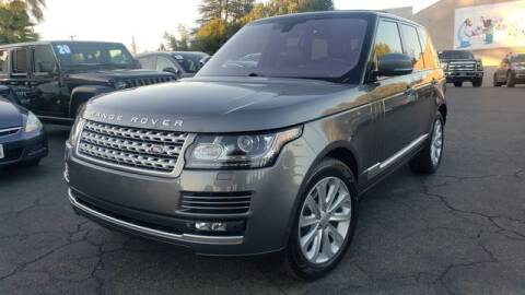 2015 Land Rover Range Rover for sale at PRESTIGE PRE OWNED INC in Campbell CA