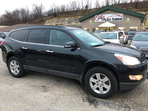 2012 Chevrolet Traverse for sale at Gilly's Auto Sales in Rochester MN