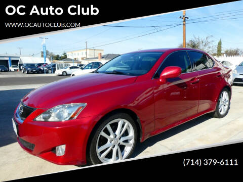 2006 Lexus IS 250 for sale at OC Auto Club in Midway City CA