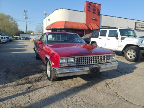 1983 Chevrolet El Camino for sale at Best Buy Wheels in Virginia Beach VA