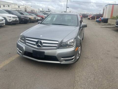 2013 Mercedes-Benz C-Class for sale at A1 Auto Mall LLC in Hasbrouck Heights NJ