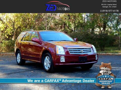 2005 Cadillac SRX for sale at Zed Motors in Raleigh NC