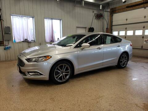 2017 Ford Fusion for sale at Sand's Auto Sales in Cambridge MN