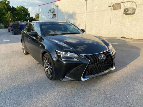 2018 Lexus GS 350 for sale at Consumer Auto Credit in Tampa FL