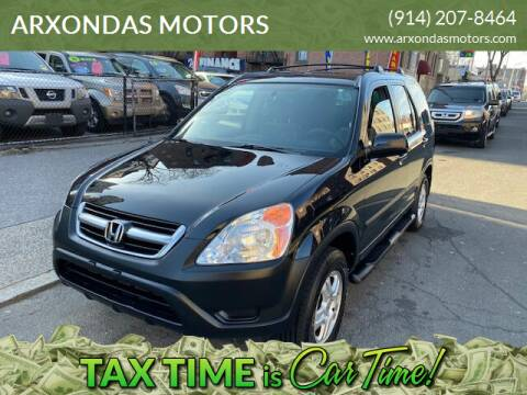 2003 Honda CR-V for sale at ARXONDAS MOTORS in Yonkers NY