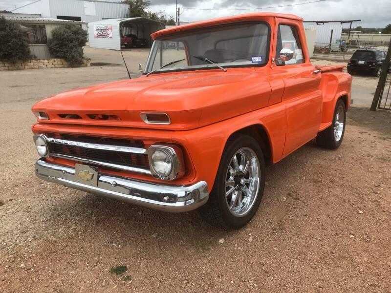 1964 Chevrolet C/K 10 Series for sale at Mafia Motors in Boerne TX