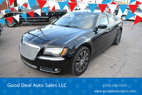 2013 Chrysler 300 for sale at Good Deal Auto Sales LLC in Denver CO