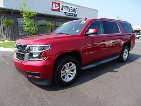 2015 Chevrolet Suburban for sale at Wholesale Direct in Wilmington NC