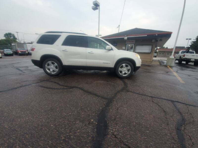2008 GMC Acadia for sale at Geareys Auto Sales of Sioux Falls, LLC in Sioux Falls SD