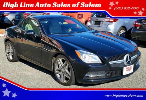 2013 Mercedes-Benz SLK for sale at High Line Auto Sales of Salem in Salem NH