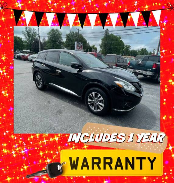 2015 Nissan Murano for sale at LAUER BROTHERS AUTO SALES in Dover PA