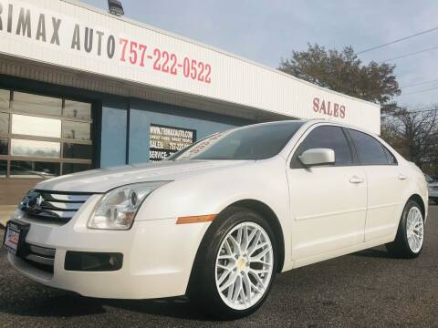 2009 Ford Fusion for sale at Trimax Auto Group in Norfolk VA