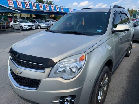 2012 Chevrolet Equinox for sale at BURNWORTH AUTO INC in Windber PA