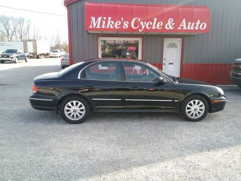 2003 Hyundai Sonata for sale at MIKE'S CYCLE & AUTO in Connersville IN