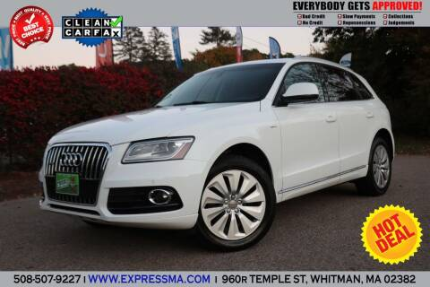 2013 Audi Q5 Hybrid for sale at Auto Sales Express in Whitman MA