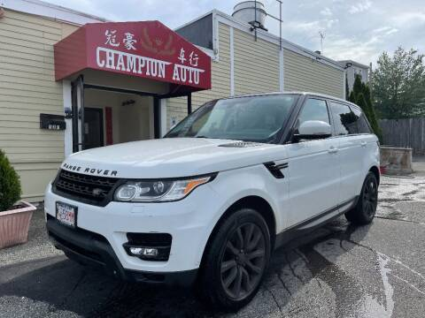 2014 Land Rover Range Rover Sport for sale at Champion Auto LLC in Quincy MA