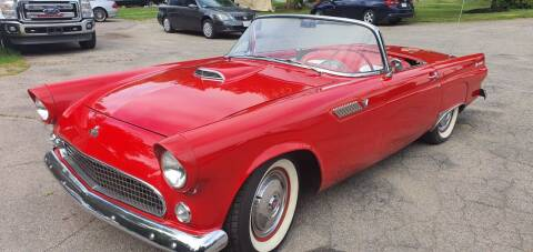 1955 Ford Thunderbird for sale at The Car Store in Milford MA