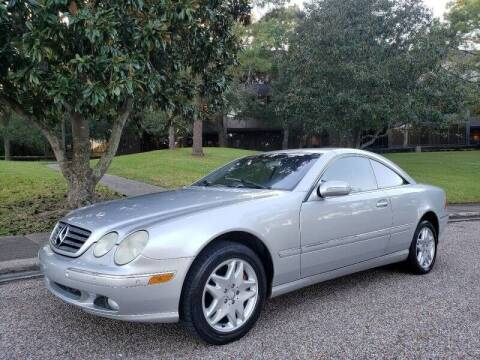 2001 Mercedes-Benz CL-Class for sale at Houston Auto Preowned in Houston TX