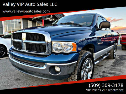 2004 Dodge Ram Pickup 1500 for sale at Valley VIP Auto Sales LLC in Spokane Valley WA