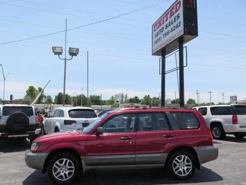 2005 Subaru Forester for sale at United Auto Sales in Oklahoma City OK