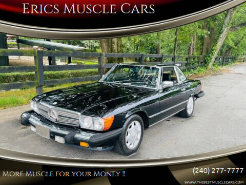 1988 Mercedes-Benz 560-Class for sale at Erics Muscle Cars in Clarksburg MD