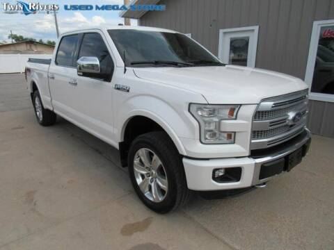 2016 Ford F-150 for sale at TWIN RIVERS CHRYSLER JEEP DODGE RAM in Beatrice NE