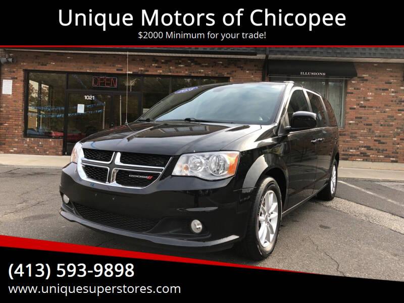 2018 Dodge Grand Caravan for sale at Unique Motors of Chicopee in Chicopee MA