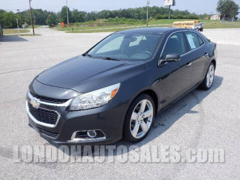 2015 Chevrolet Malibu for sale at London Auto Sales LLC in London KY