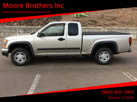 2008 Chevrolet Colorado for sale at Moore Brothers Inc in Portland CT