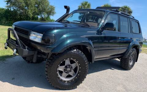 1996 Toyota Land Cruiser for sale at PennSpeed in New Smyrna Beach FL