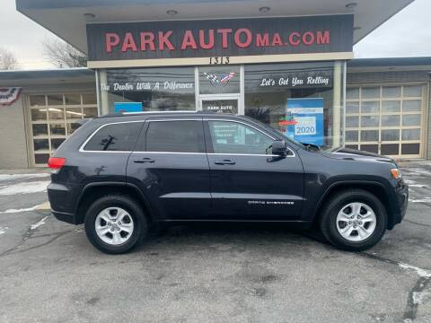 2015 Jeep Grand Cherokee for sale at Park Auto LLC in Palmer MA